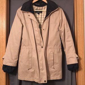 London Fog coat with hood
